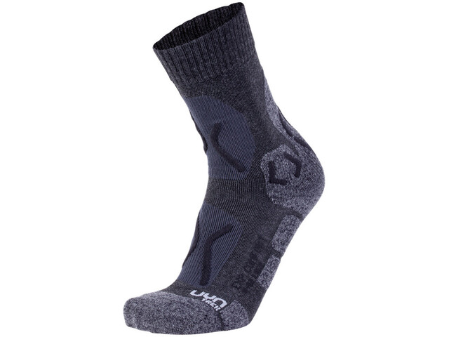 UYN Trekking Expl**** Comfort Chaussettes Femme, anthracite/black